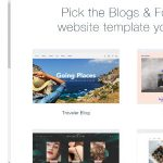 Wix Blog Template Examples