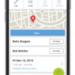 mHelpDesk Mobile App View