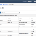 mHelpDesk Lead Management View