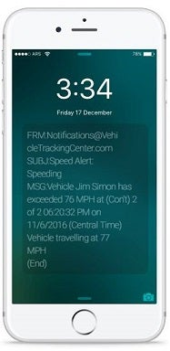 US Fleet Tracking iPhone Alert