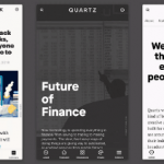 Quartz website design
