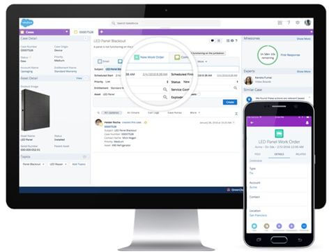 Salesforce Lightning Review 2019 Field Service Management Tech Co