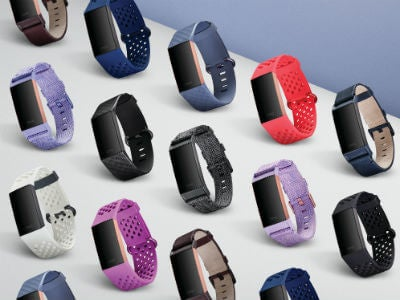 Fitbit Charge 3 band selection