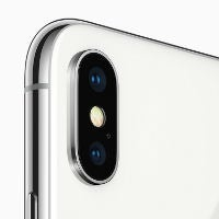 iPhone X rear camera small