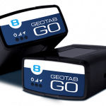Two Geotab Go units