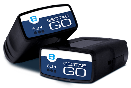 Two Geotab Go hardware units