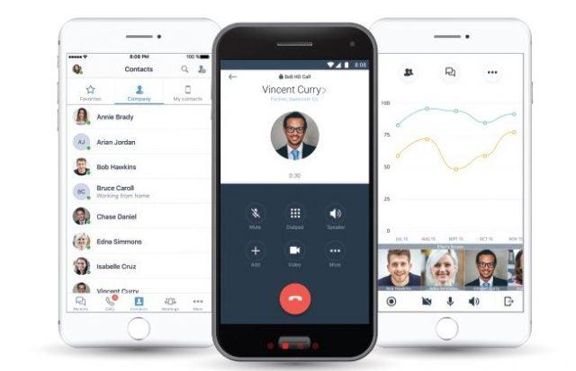 8x8 Virtual Office mobile app