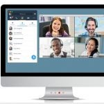 8x8 Virtual Office video conference