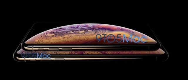 iPhone XS leaked images