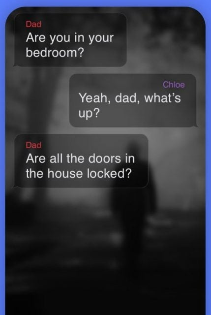 A screenshot from the Hooked app