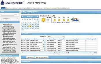 PoolCarePRO Dashboard
