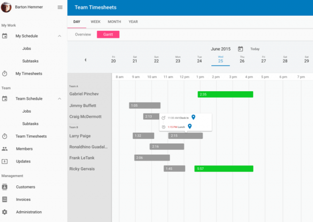 Fieldpulse Timesheets