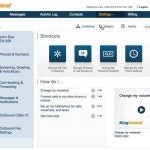 RingCentral communications user interface