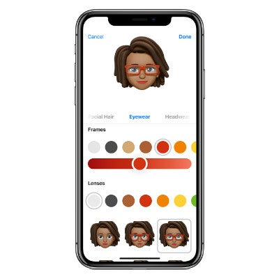 Apple iPhone XS Memoji