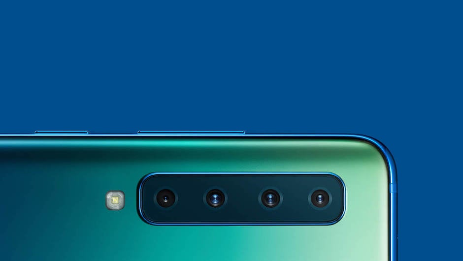 The Samsung Galaxy A9 Has 4 Rear Facing Cameras Because Why Not