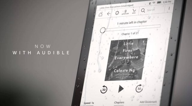 Kindle Paperwhite with Audible