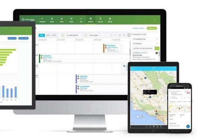 Verizon Connect trucking dispatch software