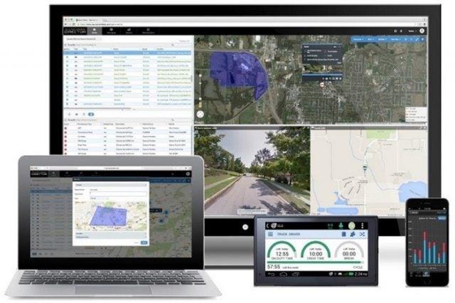 Teletrac Navman trucking dispatch software