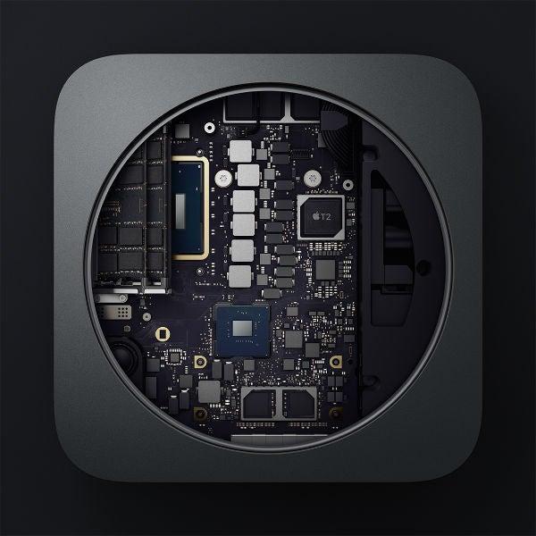Apple Mac Mini interior
