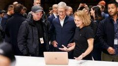Apple Event Tim Cook Kaws