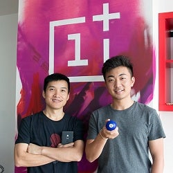 OnePlus founders Pete Lau and Carl Pei
