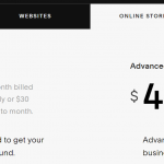 squarespace review online store pricing