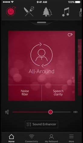 ReSound Smart 3D iPhone Hearing Aid App