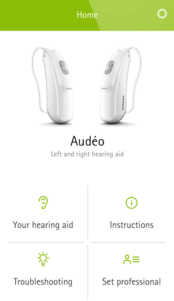 Phonak Remote iPhone Hearing Aid App