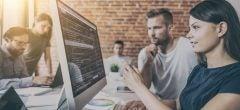 Outsourcing web design header