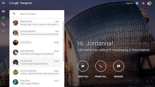 Google Hangouts Launch