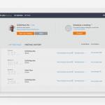 GoToMeeting interface