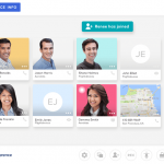 The UberConference conference call service interface