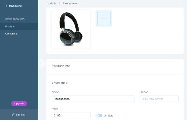 Wix Online Store Medium