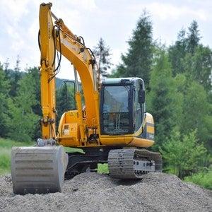 Asset Tracked Excavator