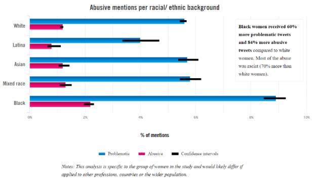 Amnesty International Survey Mentions by Ethnicity