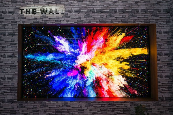 CES 2019 Samsung the Wall TV