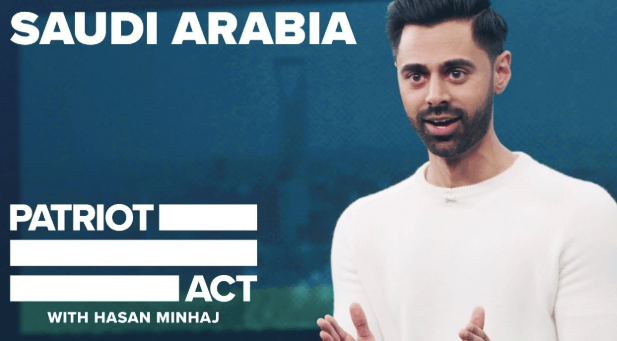 Hasan Minhaj Netflix Patriot Act