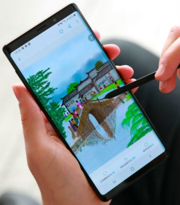 Samsung Galaxy Note 9 small waterproof