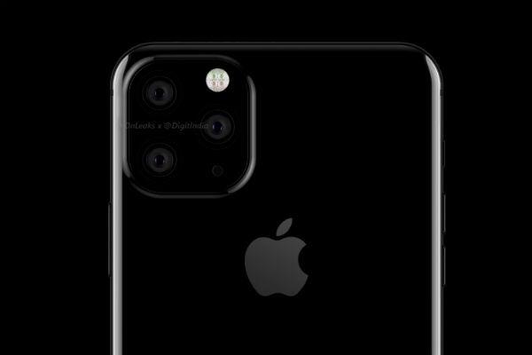 iPhone XI triple camera renders
