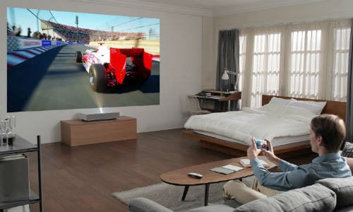 LG projector CES 2019 Small