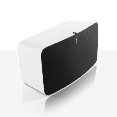 Sonos Play:5 speaker white with black grille small