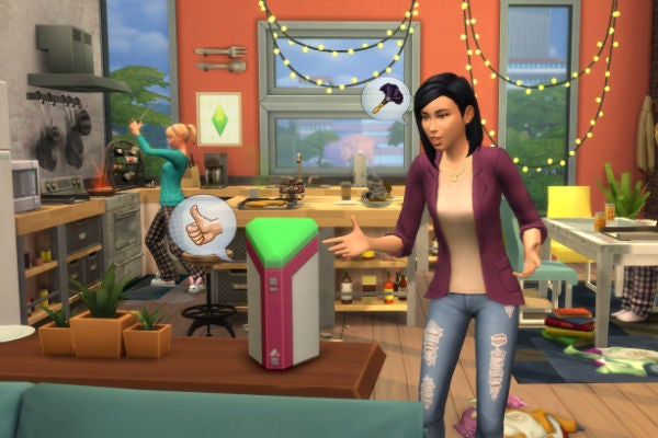 Sims 4 Lin-z smart assistant