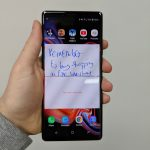 samsung galaxy note 9 review in hand notes pages