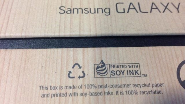 Samsung goes green