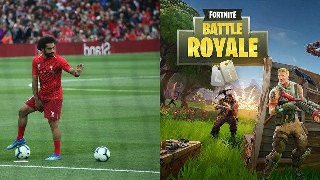 mo salah vs fortnite