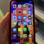 iPHone XR review front display
