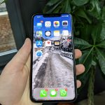 iphone xs max review in hand front