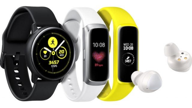 Galaxy Watch Active Fit Buds