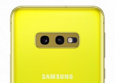 Samsung Galaxy S10e cameras