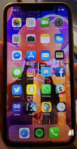 apple iphone xr processor small
